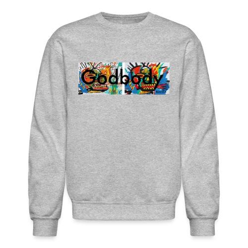 Godbody Samo Box Logo Crewneck - Crewneck Sweatshirt