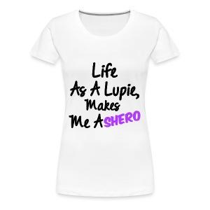 Lupus Shero - Women's Premium T-Shirt