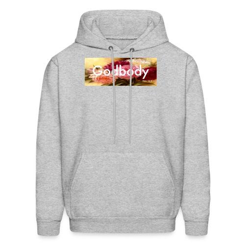 Godbody Foral Box Logo Hoodie  - Men's Hoodie