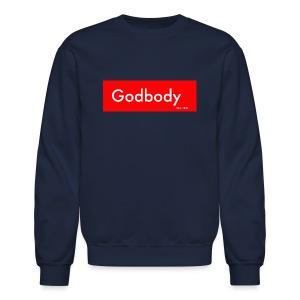 Godbody Box Logo Crewneck  - Crewneck Sweatshirt
