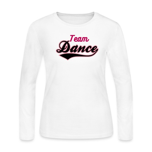 TEAM DANCE - Women's Long Sleeve Jersey T-Shirt - Women's Long Sleeve Jersey T-Shirt