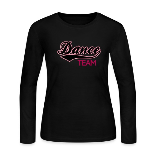 DANCE TEAAM - Women's Long Sleeve Jersey T-Shirt - Women's Long Sleeve Jersey T-Shirt