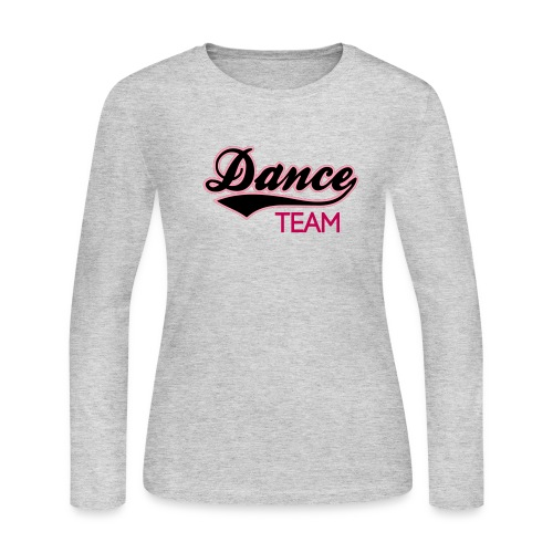 DANCE TEAM - Women's Long Sleeve Jersey T-Shirt - Women's Long Sleeve Jersey T-Shirt