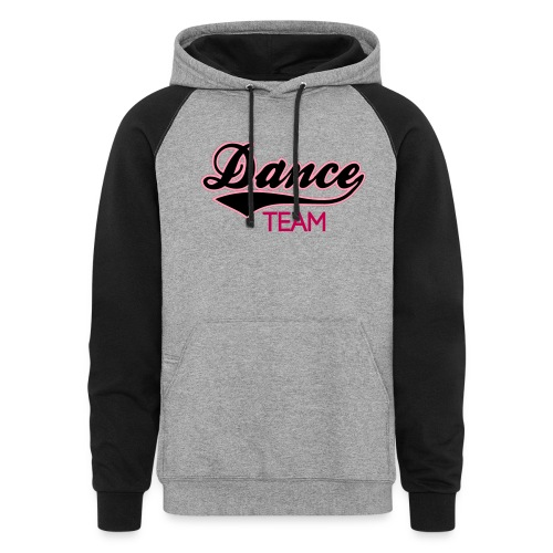 DANCE TEAM - Women's Colorblock Hoodie - Colorblock Hoodie