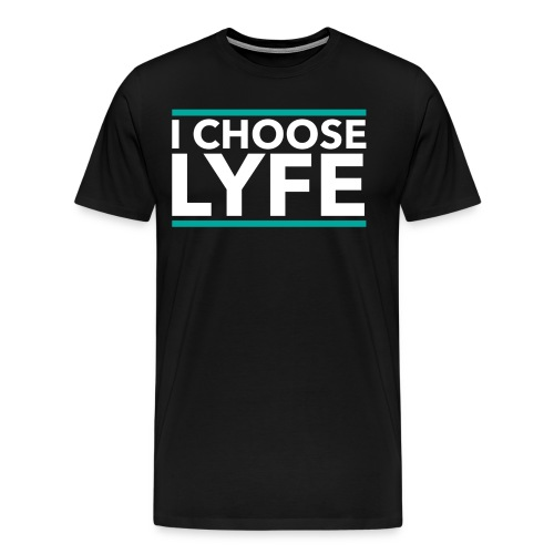 icl-s1-black - Men's Premium T-Shirt
