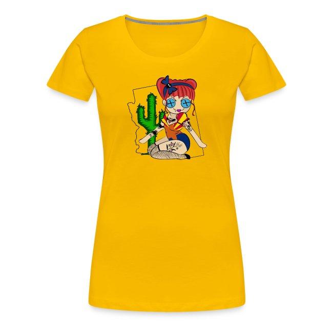 Arizona Women's Premium T-Shirt