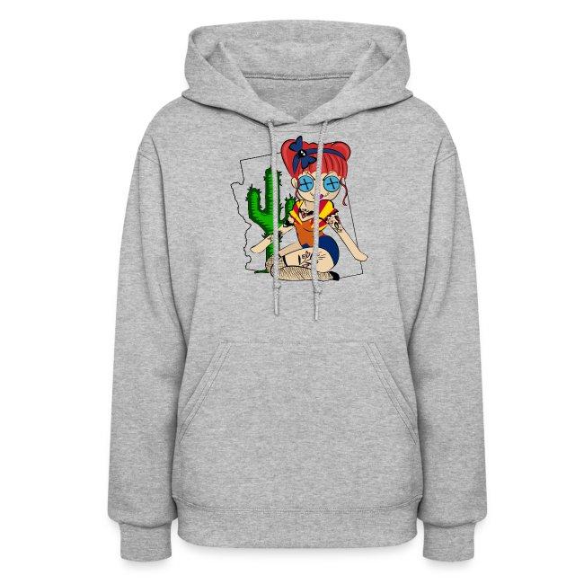 Arizona Women's Hooded Sweatshirt