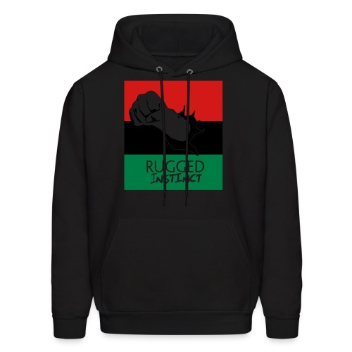 Rugged Instinct Hoodie - Men's Hoodie