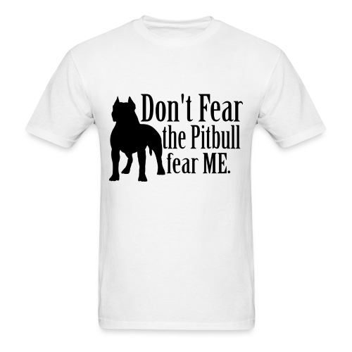 Pitbull No Fear - Men's T-Shirt