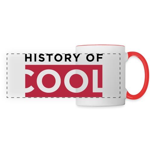 History of Cool Mug (Red) - Panoramic Mug