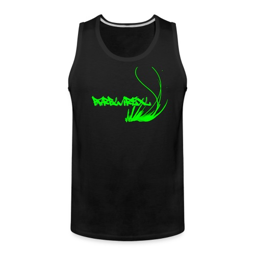 men's logo muscle shirt - Men's Premium Tank