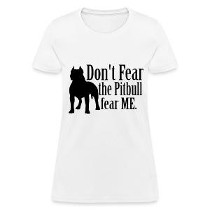 Pitbull No Fear - Women's T-Shirt