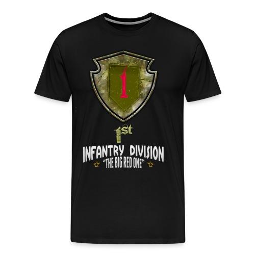 Fracture: 1st Infantry Division - Men's Premium T-Shirt