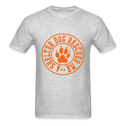 shelter dog rescue - Men's T-Shirt