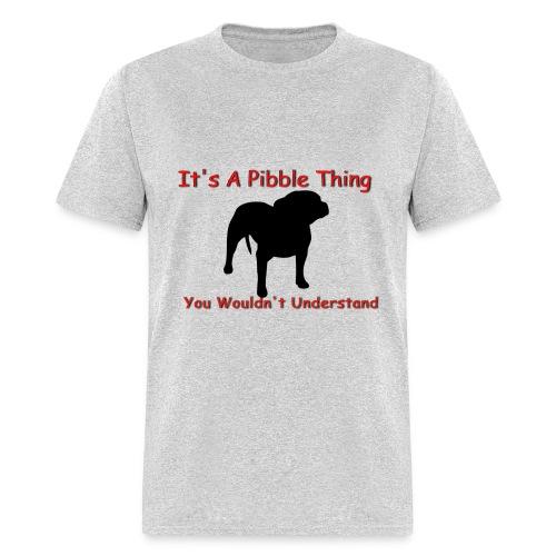 shelter dog rescue - Men's T-Shirt