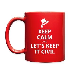 MUG - Keep Calm and Let's Keep it Civil - Full Color Mug