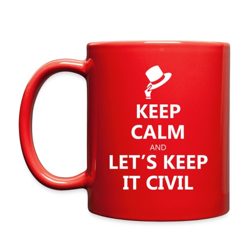 MUG - Keep Calm and Let's Keep it Civil - Full Color Mug
