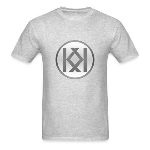 King Kaliber Logo T-Shirt (Light Gray) - Men's T-Shirt