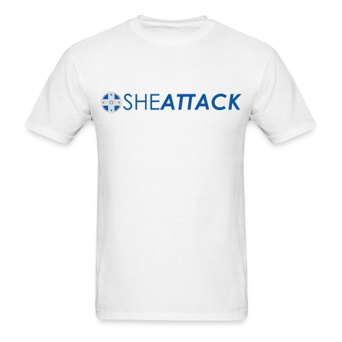 SheAttack Men's - Men's T-Shirt