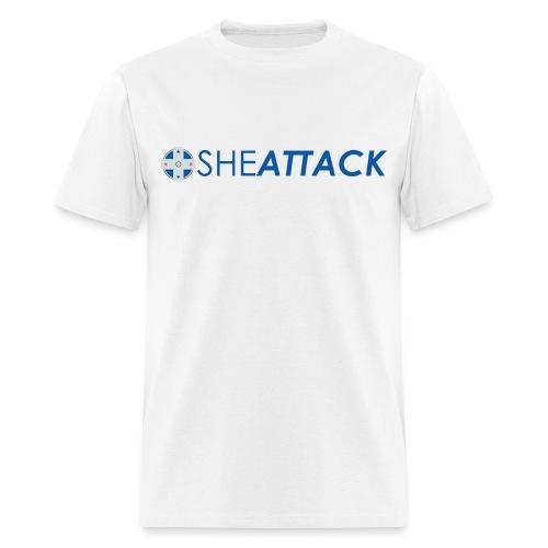 SheAttack Men's - Men's T-Shirt