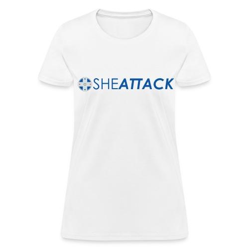 SheAttack Women's - Women's T-Shirt