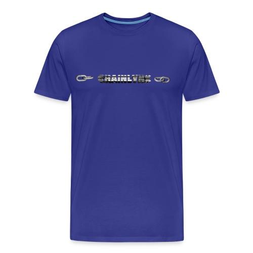 oOChainLynxOo Logo - Men's Premium T-Shirt