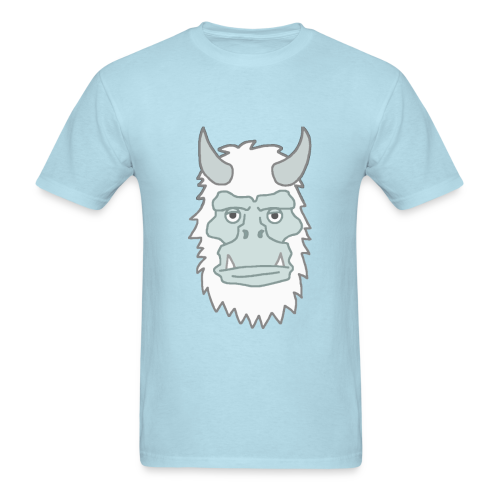 GaryDaYeti Shirt - YETI HEAD - Men's T-Shirt
