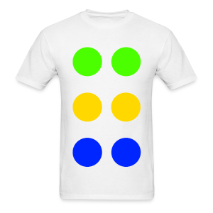 Twister Game  - Men's T-Shirt