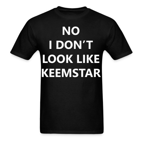 Keemstar Men's T-Shirt (Black) - Men's T-Shirt