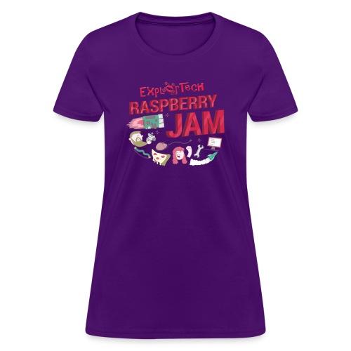 Women's ExplorTech Raspberry Jam T-Shirt - Women's T-Shirt