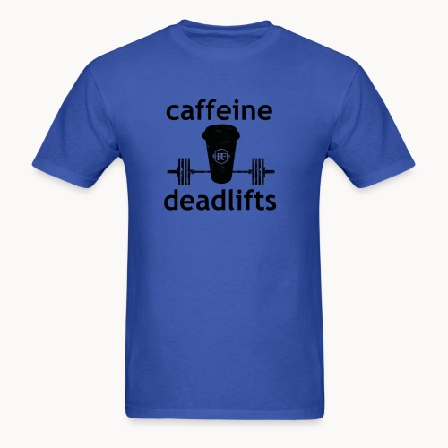 Caffeine & Deadlifts Colors - Men's T-Shirt