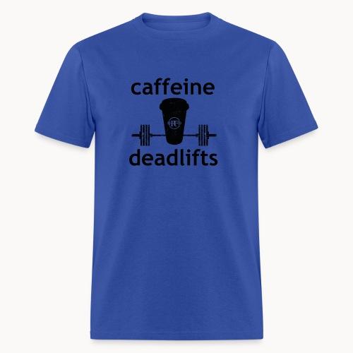 Caffeine & Deadlifts Colors - Men's T-Shirt
