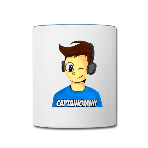 Official CaptainOmnii Mug - Contrast Coffee Mug