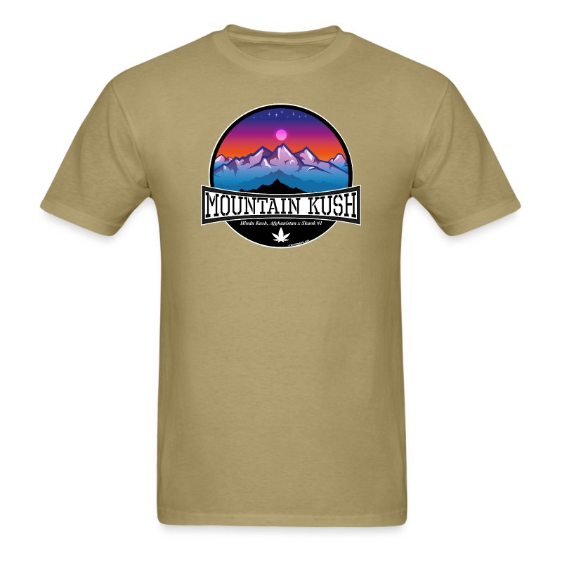Mountain Kush / Strain  - male - Men's T-Shirt