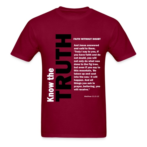 Know the truth Matthew - Men's T-Shirt