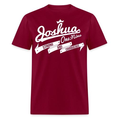 Joshua 1:9 - Men's T-Shirt
