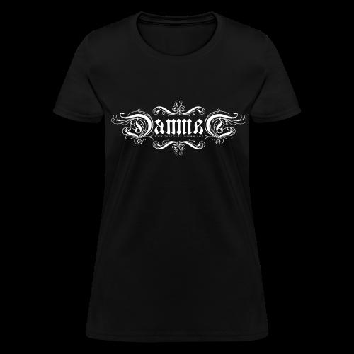 DAMNED Ambigram Logo - Women - Women's T-Shirt