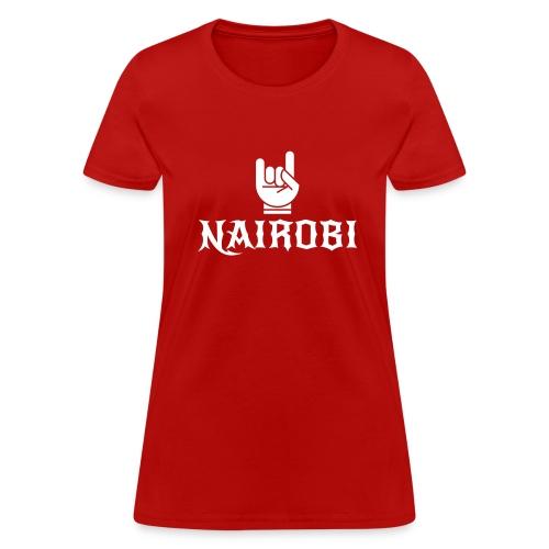 Nairobi Rocker - Women's T-Shirt