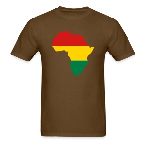 Africa - Red, Gold, Green - Men's T-Shirt