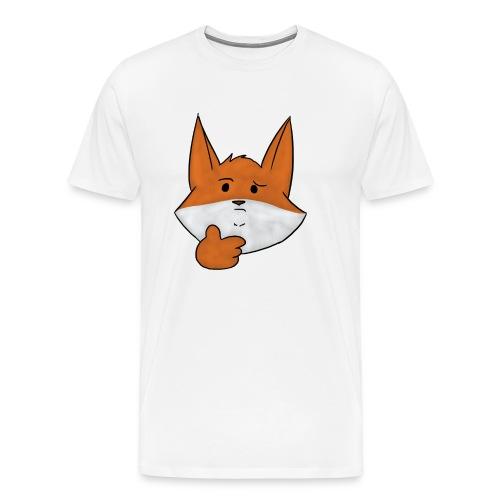 :thinking: - Men's Premium T-Shirt