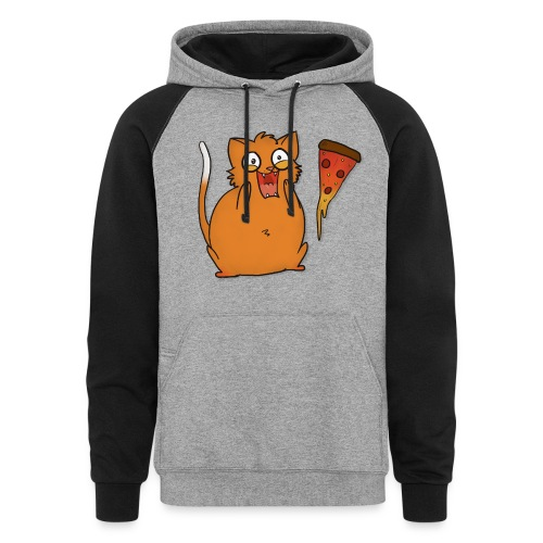 Pizza - Colorblock Hoodie