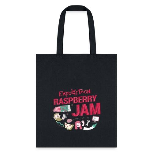 ExplorTech Raspberry Jam Tote Bag (Pink) - Tote Bag