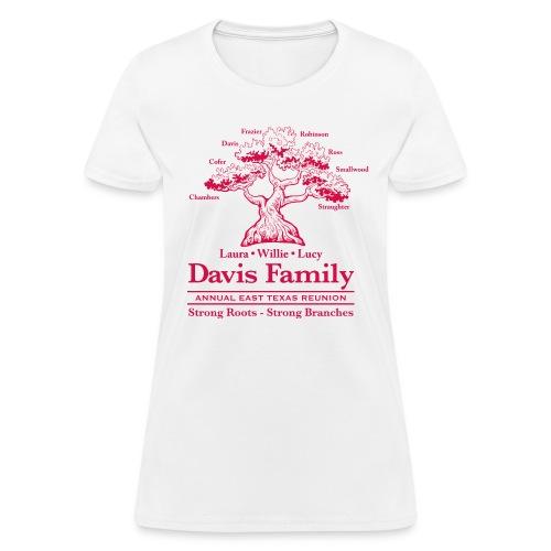 Davis Family Reunion- Women's Tee - Women's T-Shirt