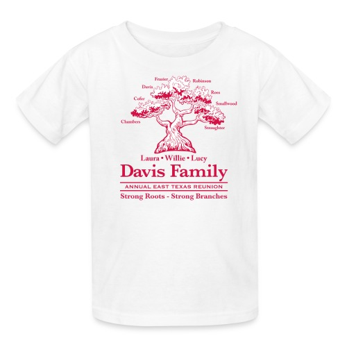 Davis Family Reunion- Kid's Tee - Kids' T-Shirt