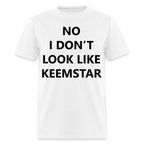 Keemstar Men's T-Shirt (White) - Men's T-Shirt