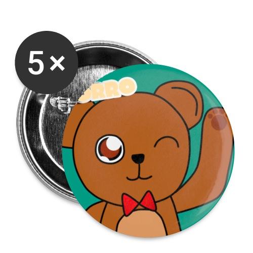 Broche de OsoPedorro - Small Buttons