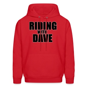 Riding with Dave Hoodie - Men's Hoodie