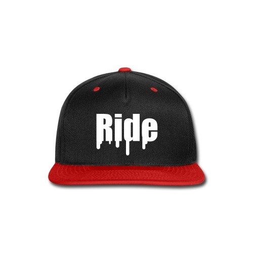 Ride Hat 2 - Snap-back Baseball Cap