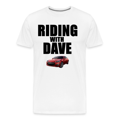Riding with Dave & Genesis Coupe  - Men's Premium T-Shirt