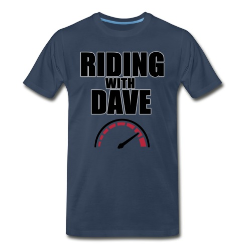 Riding with Dave Redline - Men's Premium T-Shirt